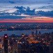 View on New York and New Jersey — Stock Photo