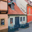 Stock Photo: Golden Lane in Prague Castle