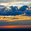Dramatic sky at sunset — Stock Photo #6207345