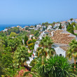 Spanish village, Nerja, Costa del Sol, Spain - Stock Photo
