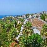 Spanish village, Nerja, Costa del Sol, Spain — Stock Photo