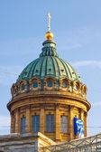 купол казанского собора, санкт-петербург — Стоковое фото