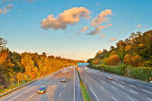 Highway in Germany — Stock Photo
