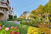 Lombard Street in San Francisco — Stock Photo