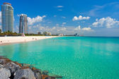 South beach, miami, florida — Stockfoto