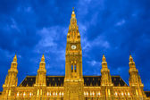 Town hall in Vienna — Stock Photo