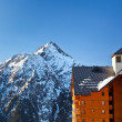 Royalty-Free Stock Photo: Hotel in French Alps
