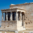 Erechtheum Temple in Acropolis, Athens — Foto de Stock