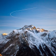 Stock Photo: French Alps