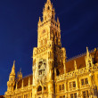 New Town Hall in Munich - Stock Photo
