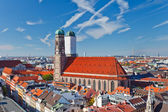 Frauenkirche on Marienplatz, Munich — Stock Photo
