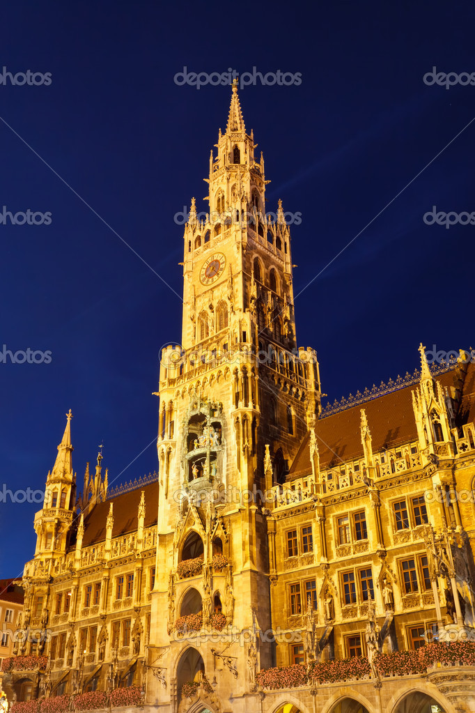 New Town Hall in Munich, Germany — Stock Photo #6232291