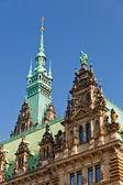 Town Hall in Hamburg — Stock Photo