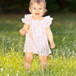 Little girl in park — Stock Photo #6365498