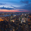 View on New York and New Jersey - Foto de Stock