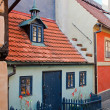 Golden Lane in Prague — Stock Photo