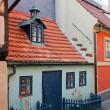 Golden Lane in Prague — Stock Photo
