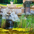 Fountain in Schonbrunn, Vienna - Stockfoto