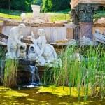 Fountain in Schonbrunn, Vienna — Stock Photo #6365911