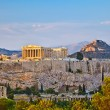 Acropolis at sunset — Stock Photo #6366074