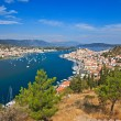 View on Poros and Galatos - Stock Photo