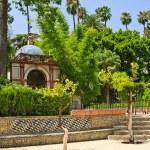 Garden in Alcazar Palace — Stock Photo #6366078