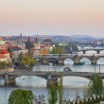 View on Prague Bridges — Stock Photo #6366094