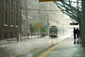 Rain in Calgary — Stock Photo