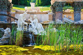 Fountain in Schonbrunn, Vienna — Stock Photo