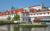 Wallenstein Palace, Prague — Stock Photo