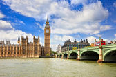 Big Ben and Houses of Parliament, London — Стоковое фото
