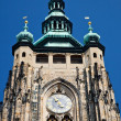St. Vitus Cathedral, Prague - Stock Photo