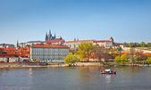 Vltava river, Prague — Stock Photo