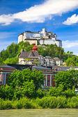 Hohensalzburg Fortress, Salzburg — Stock Photo