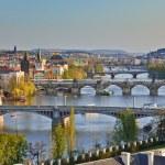 Prague Bridges — Stock Photo #6382619