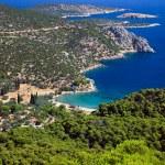 Small quiet bay on greek island — Stock Photo #6385478