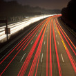 Night time traffic on highway — Stock Photo #6385529