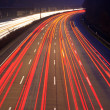 Night time traffic on highway — Stock Photo #6389920