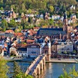 Royalty-Free Stock Photo: Heidelberg at spring