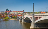 Bridge in Prague — Stock Photo