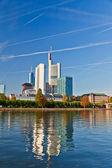 City of Frankfurt — Stock Photo