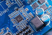 Computer circuit board — Stock Photo