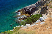 Sea coast in Greece — Stock Photo