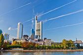 Frankfurt, almanya — Stok fotoğraf