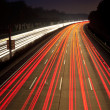 Night time traffic on highway — Stock Photo #6390440