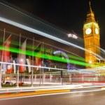 Traffic in night London — Stock Photo #6394289