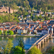 Heidelberg at spring — Foto de Stock