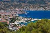 View on Poros and Galatos — Foto Stock