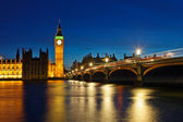 Big Ben and Houses of Parliament — Foto de Stock