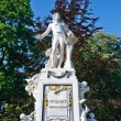 statue of wolfgang amdeus mozart — Stock Photo